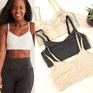 Other - SET of 3 Aerie Cotton Bralettes
